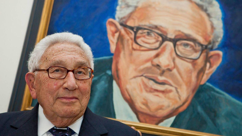 Foto: Kissinger al cuadrado. (Cordon Press)