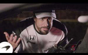 Button y Alonso, actores en el nuevo vídeo de McLaren