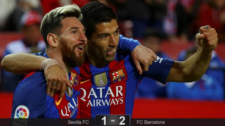 El Sevilla jugó para romperla hasta que despertó la fiera y se llevó las llaves