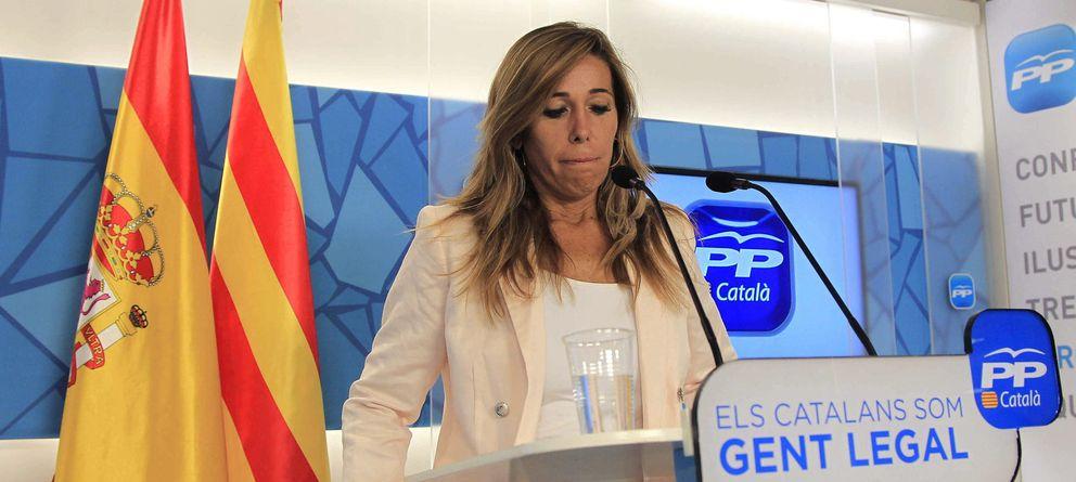 Foto: La líder de los 'populares' en Cataluña, Alicia Sánchez-Camacho. (Efe)