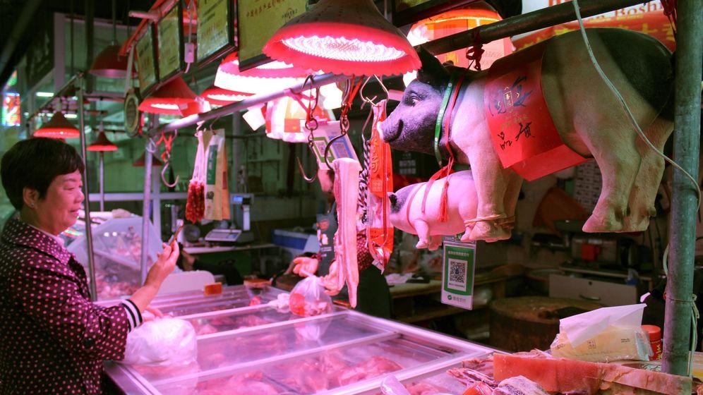 Foto: La carne de cerdo poco hecha pudo ser el origen del problema (EFE/Paula Escalada Medrano)