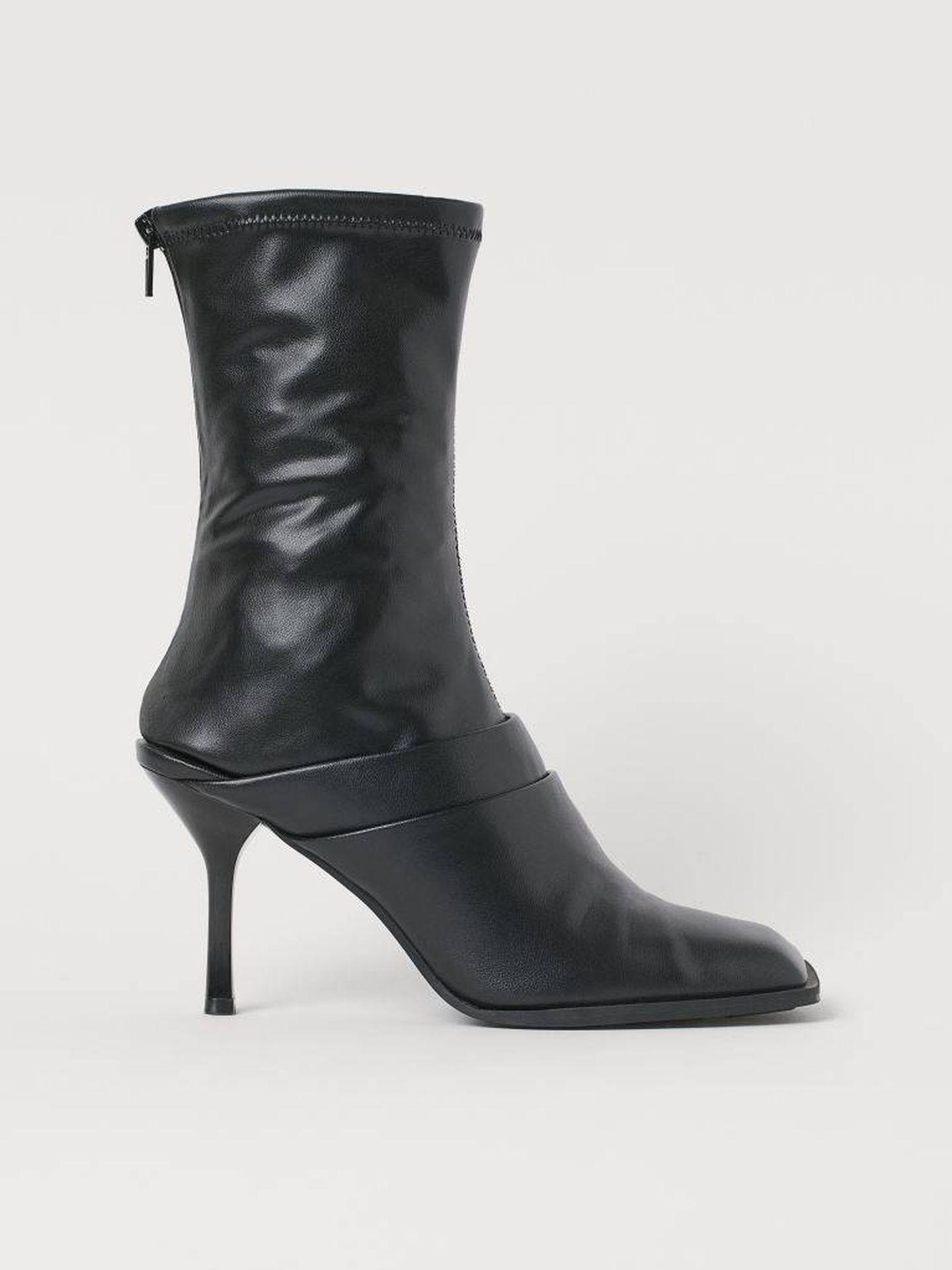 Las botas de HyM. (Cortesía)