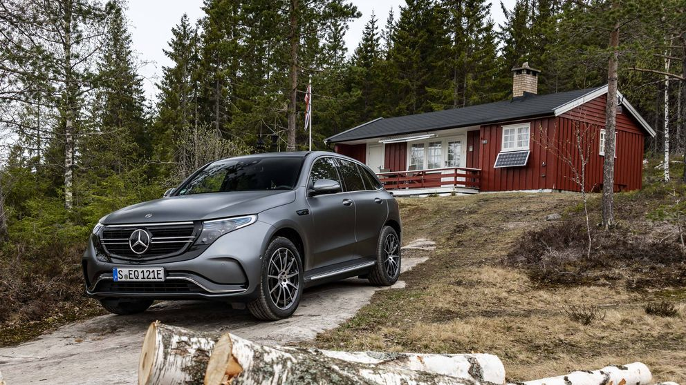Probamos el histórico primer coche eléctrico de Mercedes, el todocamino EQC