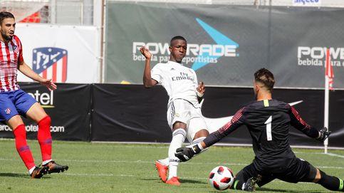 Alarma en el Madrid por Vinicius: sopesan que no juegue con el Castilla tras el 'bocado'