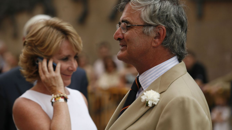 Foto: Esperanza Aguirre y su marido, Fernando Ramírez de Haro, en una imagen de archivo (Gtres)