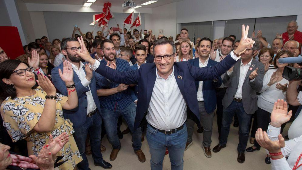 Foto: El candidato socialista a la Comunidad de Murcia, Diego Conesa. (EFE)