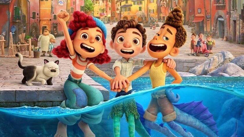 'Luca' es la última producción de Pixar y está ambientada en la Riviera italiana. (Disney)