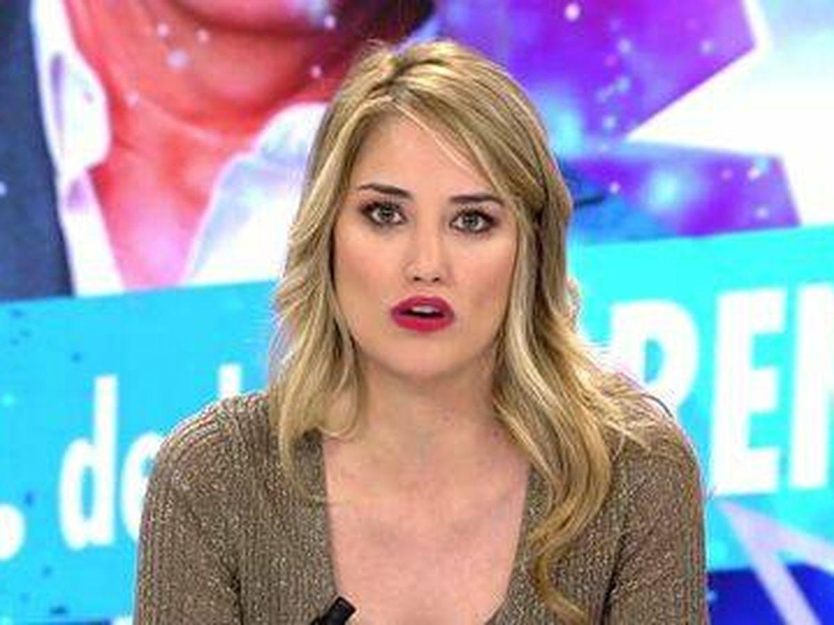 Foto: Alba Carrillo, en 'Ya es mediodía'. (Telecinco)