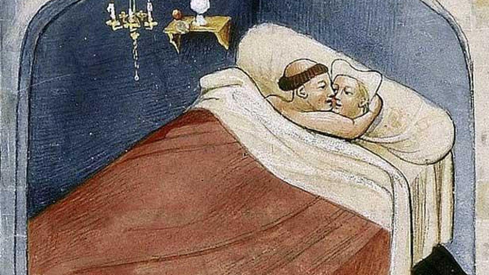Niñas Malas Porn sexualidad: así era el porno en la edad media: humor