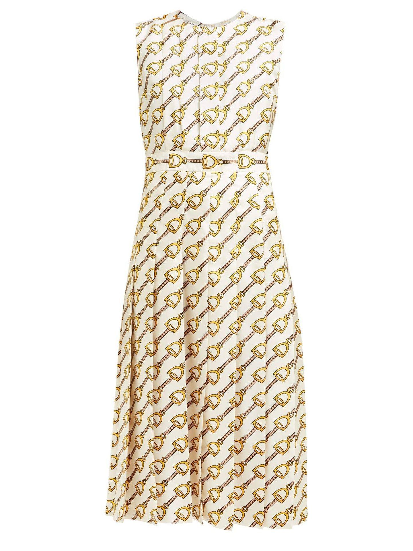 Vestido de Melania. (Gucci)