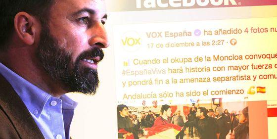 Una investigación analiza la captación 'online' de jóvenes para Vox y su 'Cañas por España'