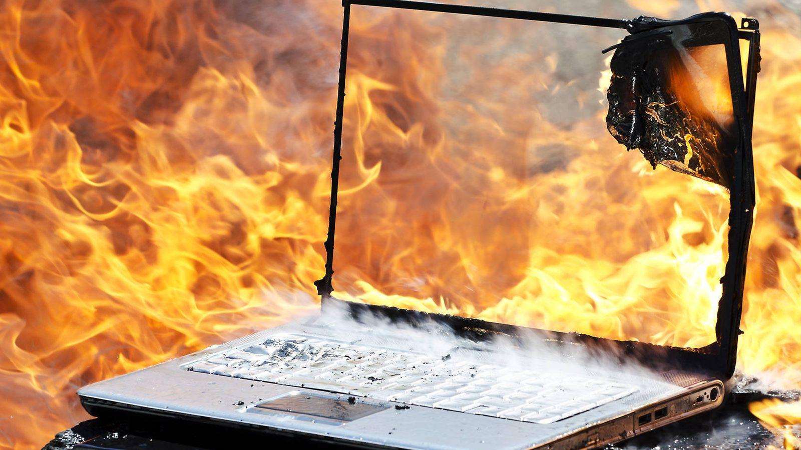 863de3fa3972 Portátiles: No te quemes: trucos para evitar que tu ordenador se ...