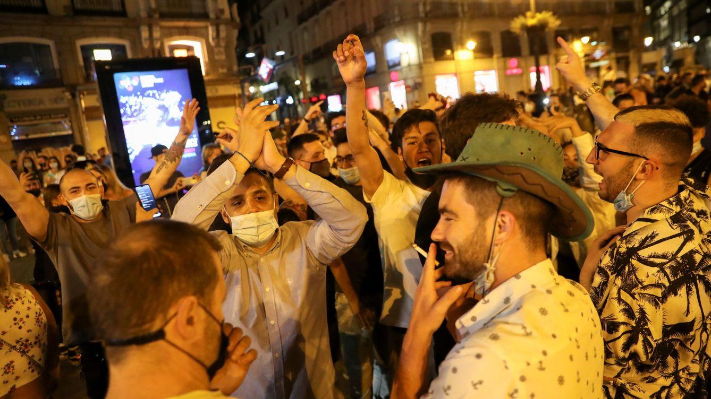 Multas en el Madrid sin estado de alarma: 650 por botellón y 350 por no llevar mascarilla