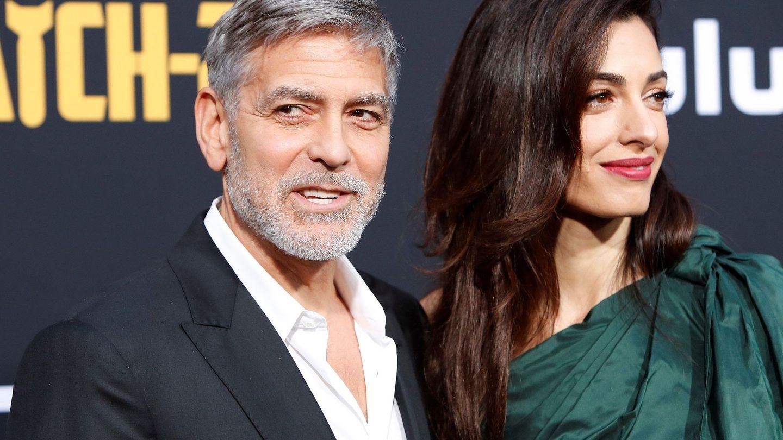 Con George Clooney, en una imagen de archivo. (EFE)