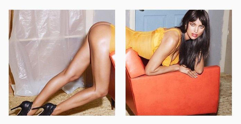 Foto: Así se ven las dos imágenes de Irina Shayk en su Instagram