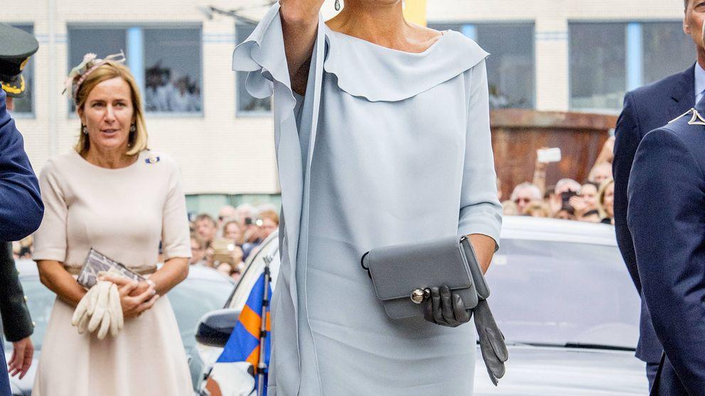 Máxima de Holanda y el vestido que por (muy muy) poco le juega una mala pasada