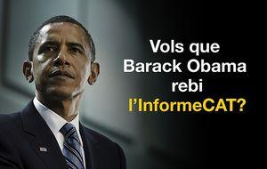 Una ONG 'oficialista' denunciará ante Obama las marcas 'anticatalán'