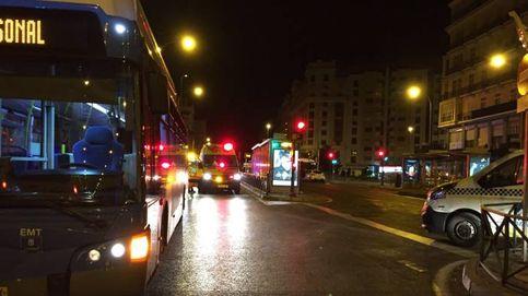 Un autobús de la EMT atropella a un joven de 25 años en Cuatro Caminos