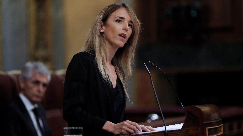 Cayetana Álvarez de Toledo, en el Congreso de los Diputados. (EFE)