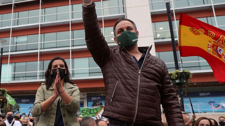 Vox aviva en la calle el clamor por la subida del precio de la luz y se lanza contra PP y PSOE