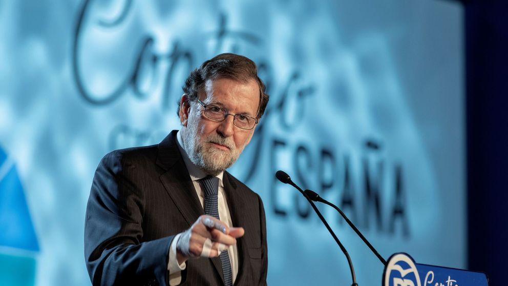 Rajoy apela a la moral del PP tras la convención arruinada entre Cifuentes y Alemania