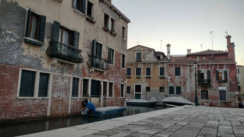 Canal detrás de la Scuola Grande di San Rocco, en Venecia (Marta Valdivieso)