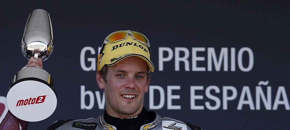 Foto: Mika Kallio en el podio de Jerez (Reuters).