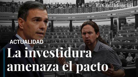 Resumen de una sesión de investidura que amenaza el pacto entre PSOE y Podemos