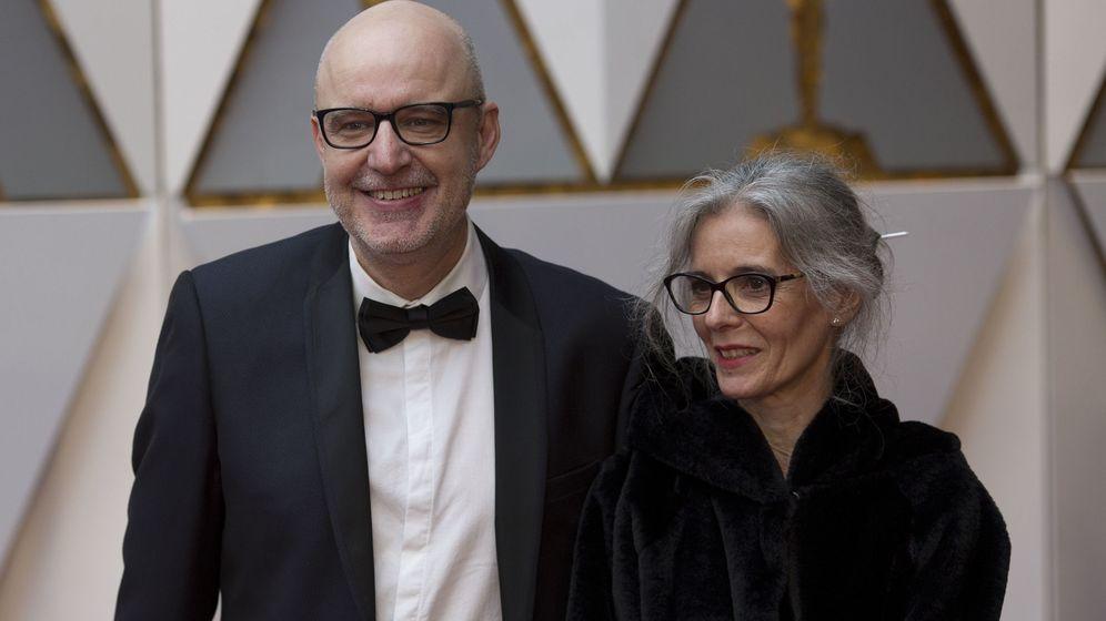 Foto: Juanjo Giménez posa con su mujer en la alfombra roja