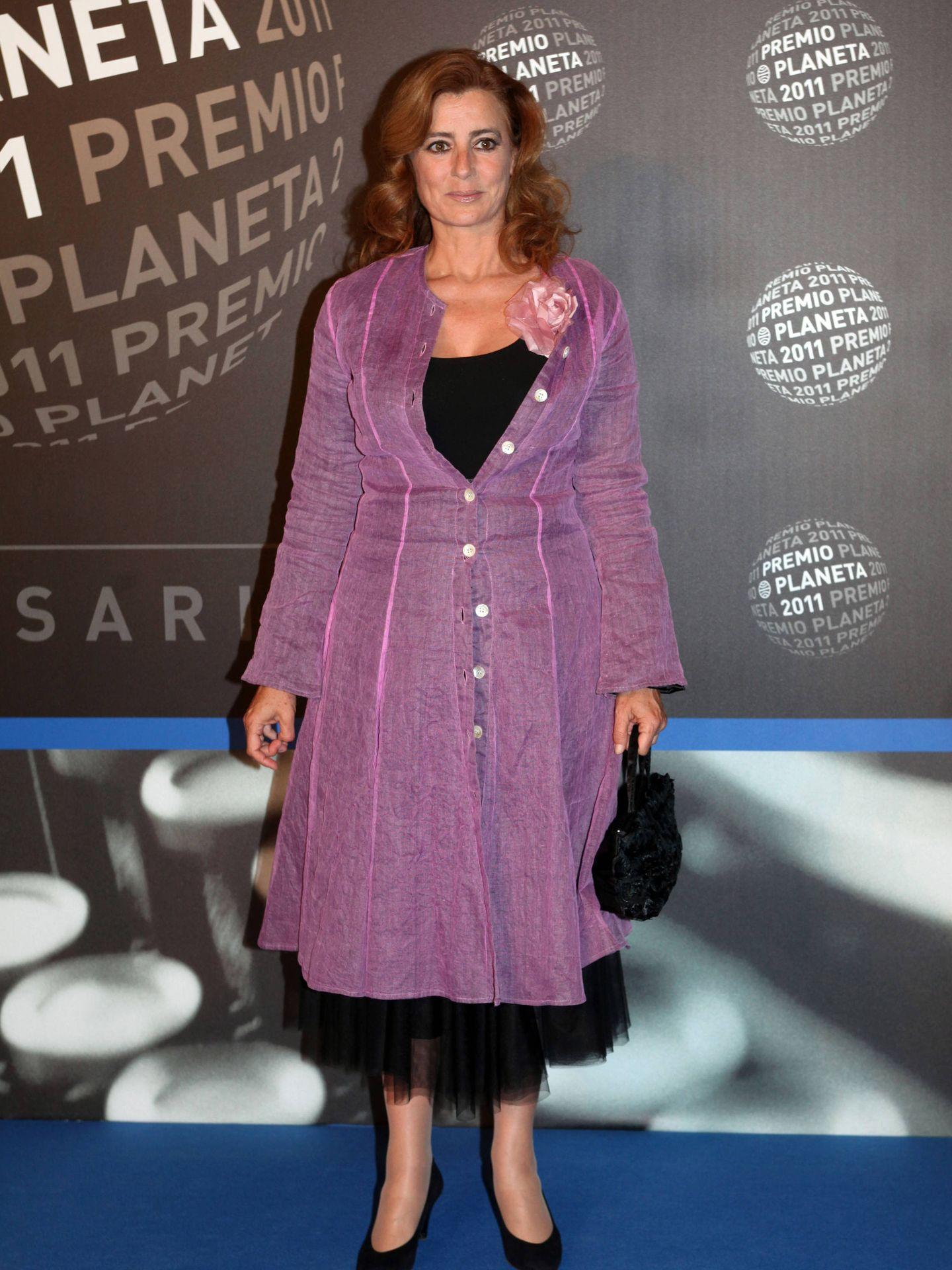 La escritora Ángeles Caso, en los Premios Planeta. (Getty)