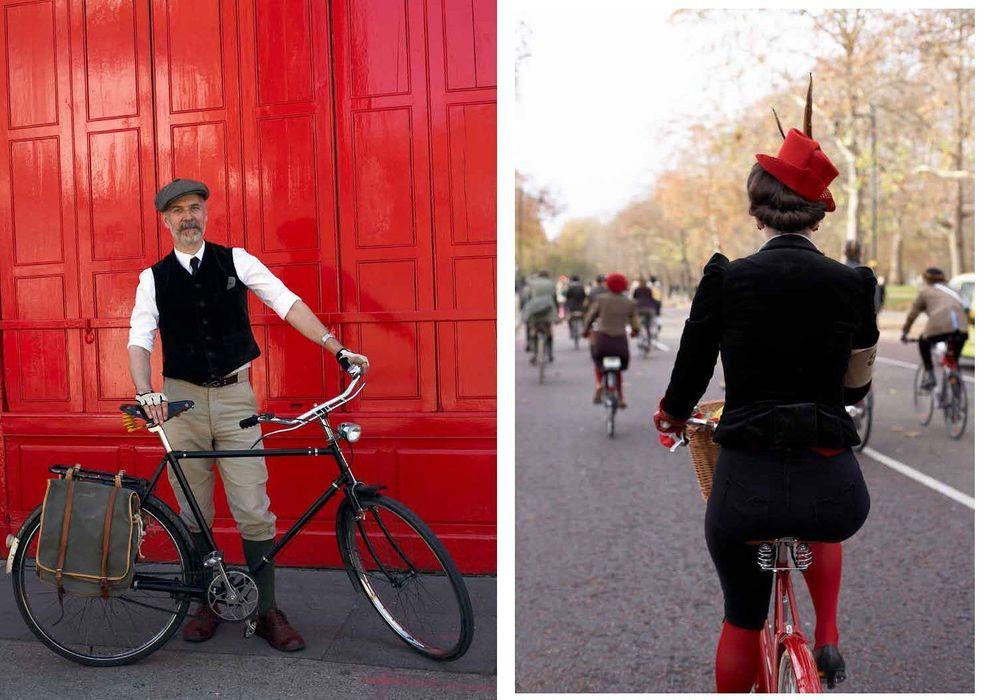 Foto: Fotos del libro Cycle Style (ed. Prestel) del fotógrafo Horst A. Friedrichs