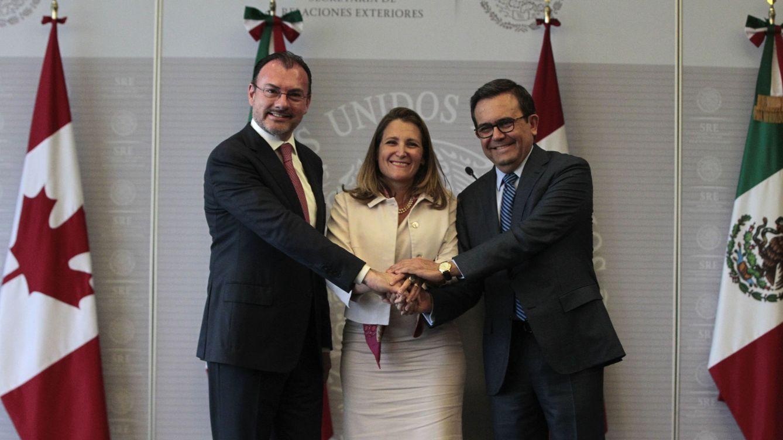 Canadá y EEUU sellan un acuerdo comercial con México que sustituye el TLCAN