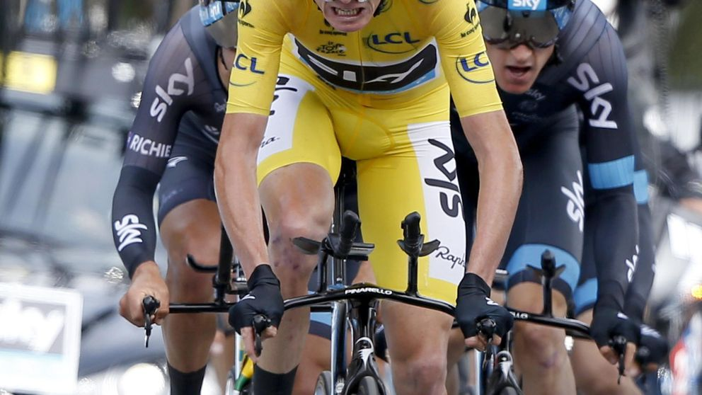 El inicio deja algo claro: Froome es el más fuerte del Tour si lo permite Tejay