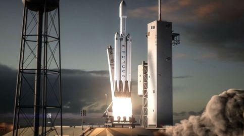 63 toneladas en el aire: así fue la primera prueba del enorme cohete Falcon Heavy