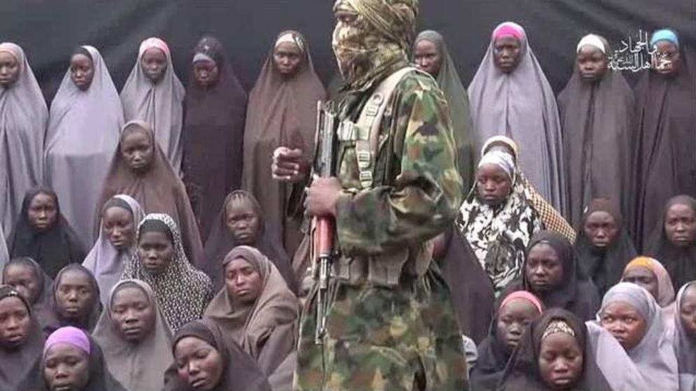 Foto: Captura del tercer vídeo revelado por Boko Haram