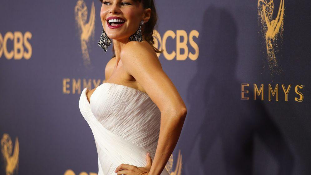 Foto: Sofá Vergara, en la entrega de los Emmy de 2017 (Reuters)