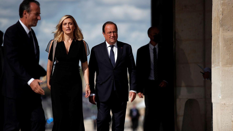 François Hollande y Julie Gayet. (EFE)
