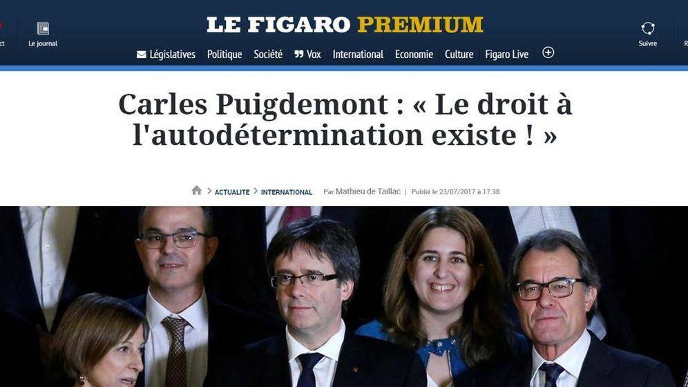 Foto: Portada de este martes de 'Le Figaro'.