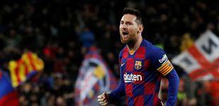 Post de La magia de Leo Messi con las faltas tapa los problemas del Barcelona