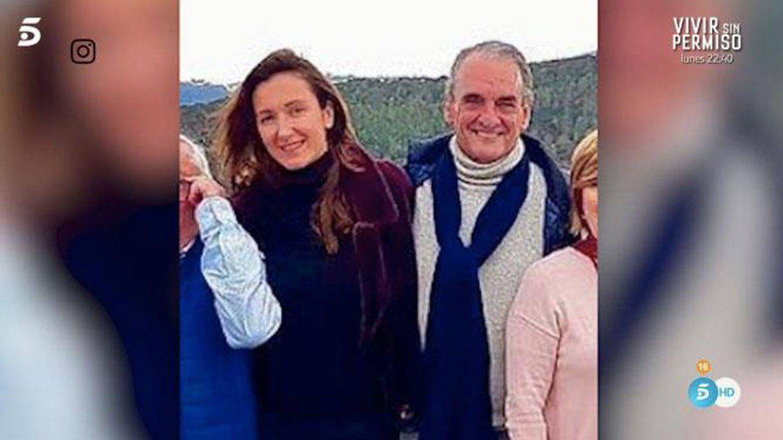 Pilar y Mario en una imagen de 'Socialité'. (Mediaset)