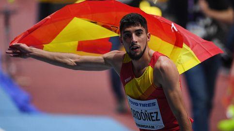 Saúl Ordoñez vuela entre los africanos para lograr el récord de España de 800