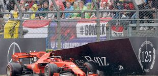 Post de Cuando un piloto de Ferrari dice adiós estrellándose en su último día de trabajo