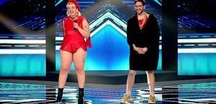 Post de Los Glitch Gyals desatan la locura en 'Factor X', pero se quedan sin silla