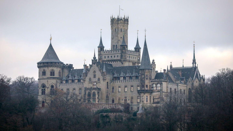 El castillo de Marienburg, origen de la disputa familiar. (EFE)