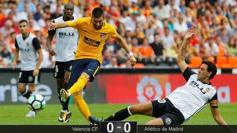 Valencia y Atlético no se quitan las ataduras y firman un empate cantado