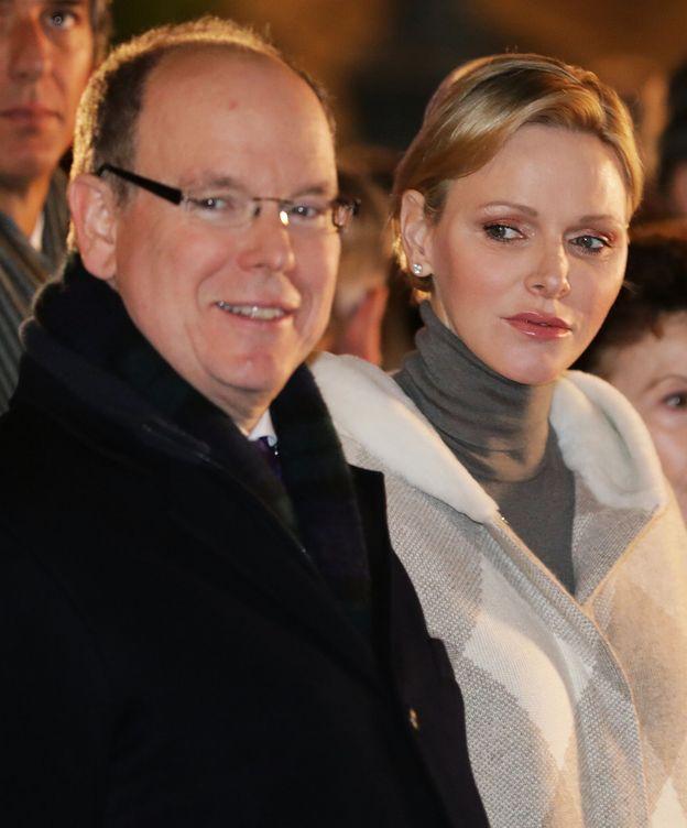 Foto: Alberto y Charlène, en la fiesta. (Reuters)
