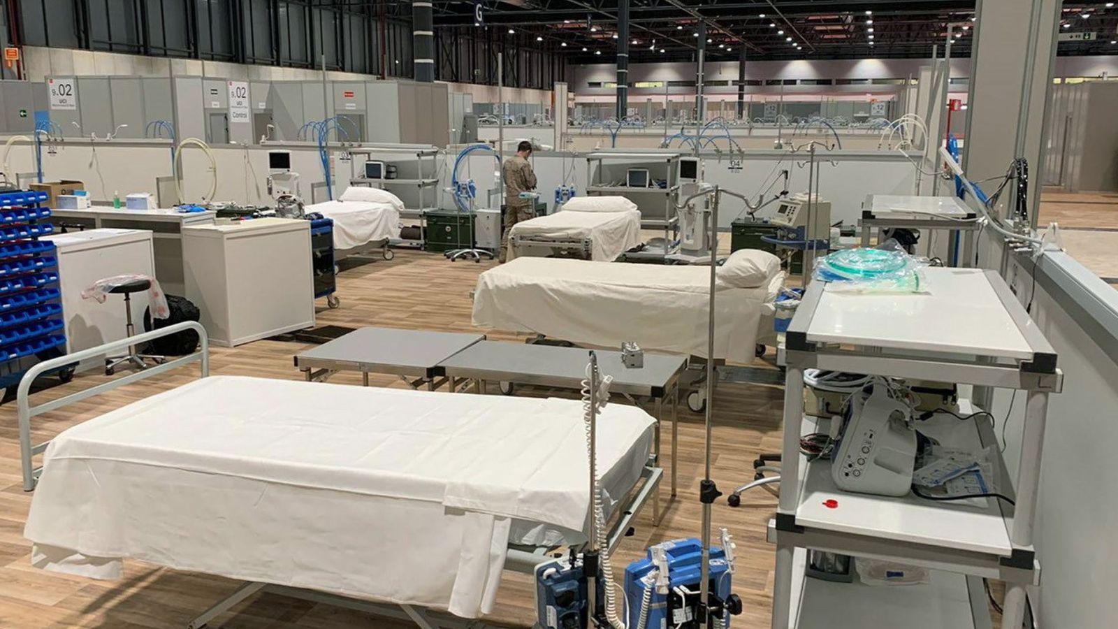 Madrid espera abrir el lunes un nuevo pabellón del hospital de ...