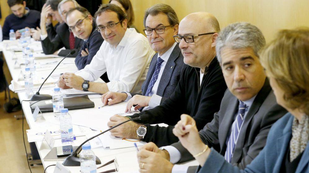 Foto: Reunión de la ejecutiva nacional de CDC. (EFE)