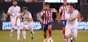 Post de La estrepitosa derrota del Real Madrid ante el Atlético en el derbi en EEUU (3-7)