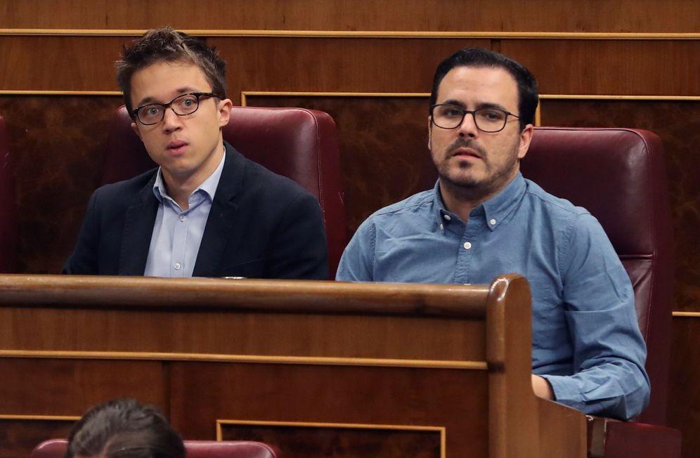 Foto: Íñigo Errejón y Alberto Garzón. (EFE)